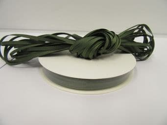 Olive Dark Green Grosgrain ribbon Ribbed Double sided, 3mm, 6mm 10mm 16mm 22mm 38mm 50mm